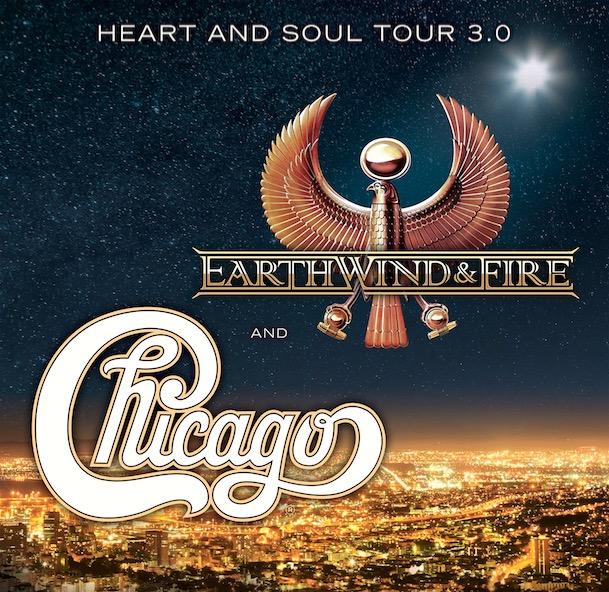 Earth Wind Amp Fire Heart Amp Soul Tour 3 0